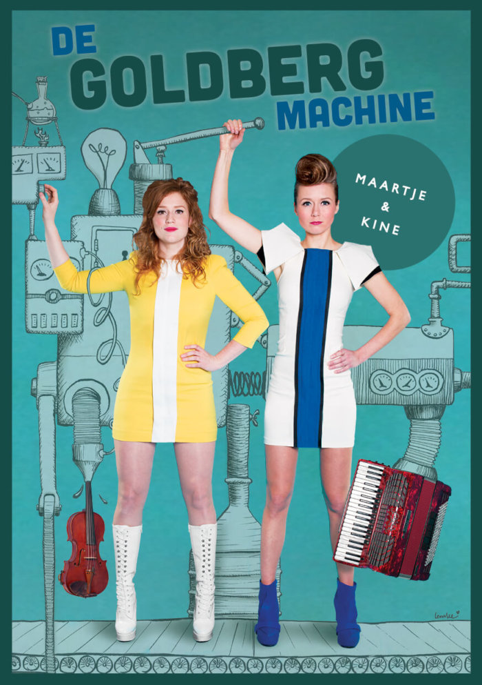 Poster 'De Goldberg Machine'