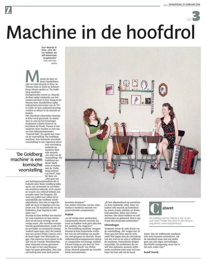 Interview Gooi en Eemlander
